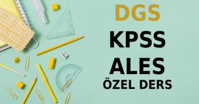 Online DGS KPSS ALES Matematik Dersi