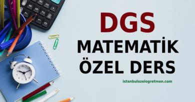 Online DGS Matematik Dersi