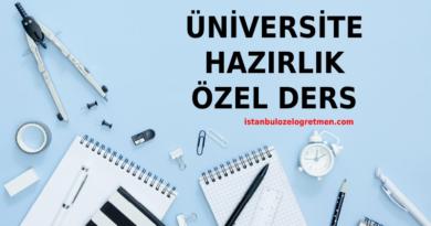 Online Üniversite Hazırlık Matematik Dersi